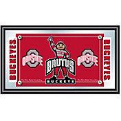 Trademark Games Ohio State Buckeyes Logo Mascot Mirror