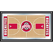 Trademark Games Ohio State Buckeyes Basketball Framed Full Court Mirror