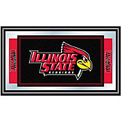 Trademark Games Illinois State Redbirds Framed Team Logo Mirror