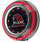 Trademark Games Miami Redhawks 14'' Neon Clock