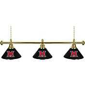 Trademark Games Miami Redhawks 60'' 3-Shade Billiard Lamp
