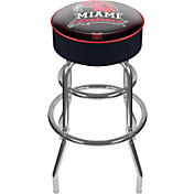 Trademark Games Miami Redhawks Padded Bar Stool
