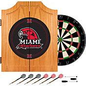 Trademark Games Miami RedHawks Dart Cabinet