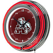 Trademark Games Mississippi State Bulldogs 14'' Neon Clock