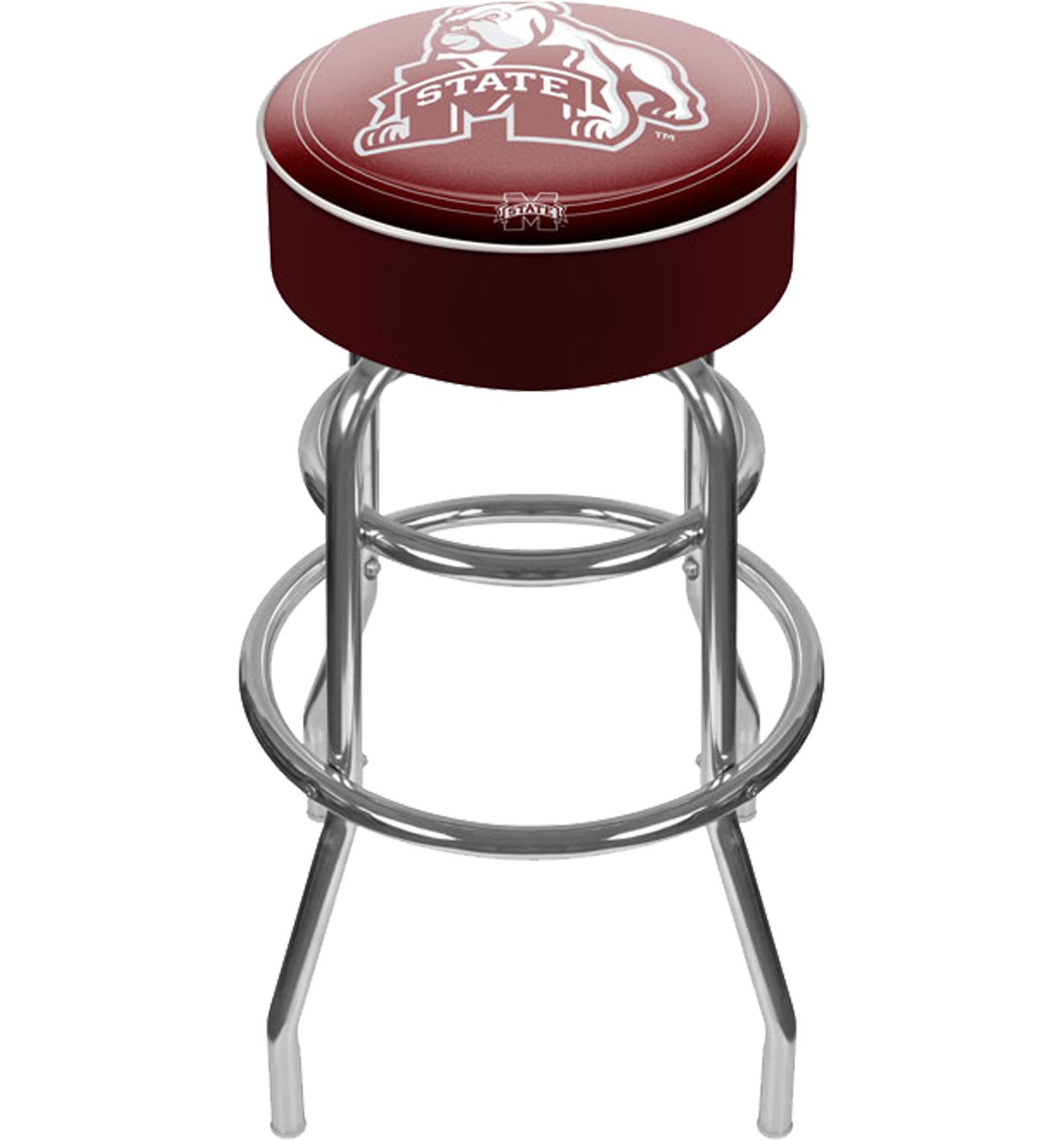 Trademark Games Mississippi State Bulldogs Padded Bar Stool