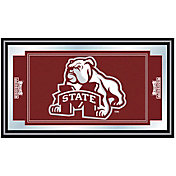 Trademark Games Mississippi State Bulldogs Framed Team Logo Mirror