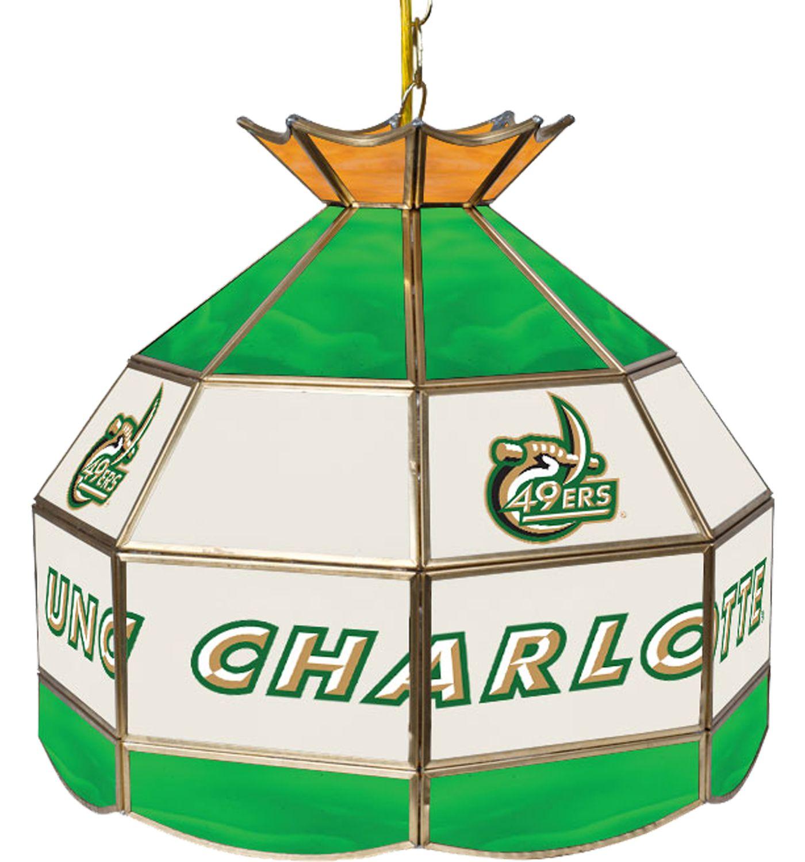Trademark Games UNC-Charlotte 49ers 16'' Tiffany Lamp