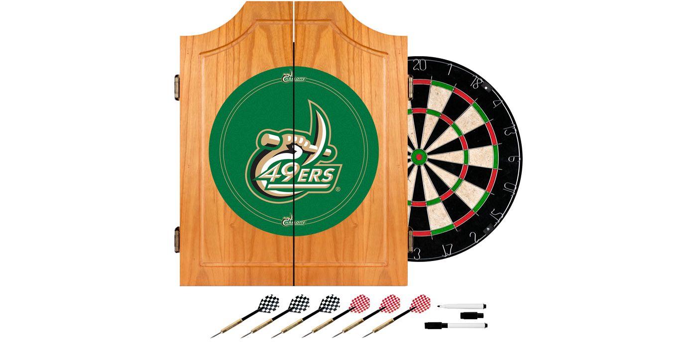 Trademark Games Charlotte 49ers Dart Cabinet
