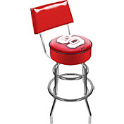 Trademark Games NC State Wolfpack Padded Swivel Bar Stool with Back