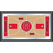Trademark Games NC State Wolfpack Basketball Framed Full Court Mirror