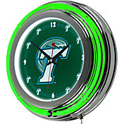 Trademark Games Tulane Green Wave 14'' Neon Clock