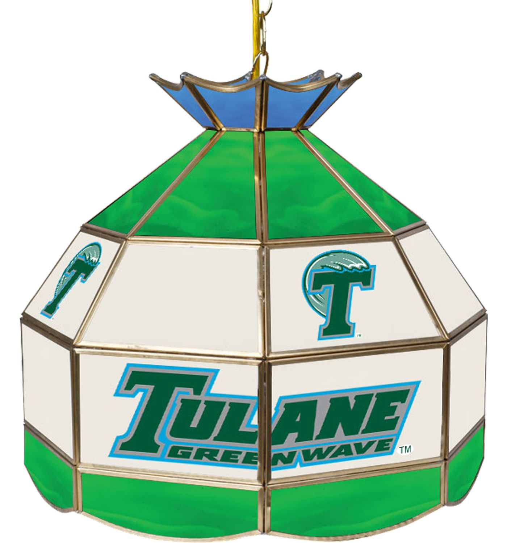 Trademark Games Tulane Green Wave 16'' Tiffany Lamp