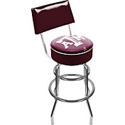 Trademark Games Texas A&M Aggies Padded Swivel Bar Stool with Back