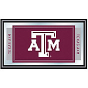 Trademark Games Texas A&M Aggies Framed Team Logo Mirror