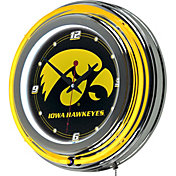 Trademark Games Iowa Hawkeyes 14'' Neon Clock