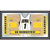 Trademark Games Iowa Hawkeyes Basketball Framed Jersey Mirror