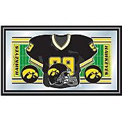 Trademark Games Iowa Hawkeyes Football Framed Jersey Mirror