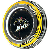 Trademark Games Western Michigan Broncos 14'' Neon Clock