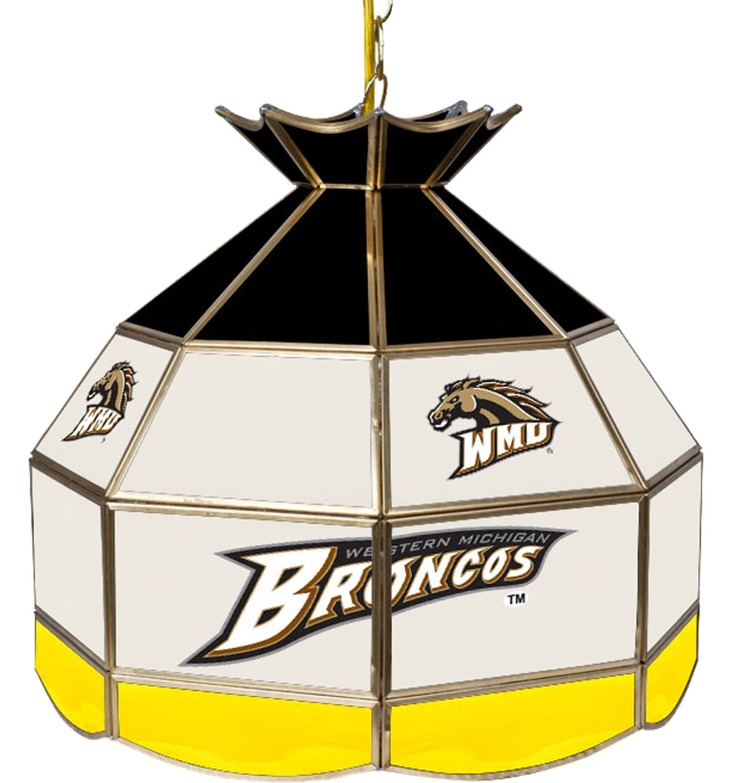 Trademark Games Western Michigan Broncos 16'' Tiffany Lamp
