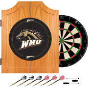 Trademark Games Western Michigan Broncos Dart Cabinet