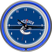 Trademark Games Vancouver Canucks 14'' Neon Clock