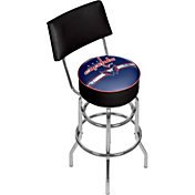 Trademark Games Washington Capitals Padded Swivel Bar Stool with Back