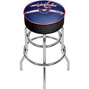 Trademark Games Washington Capitals Padded Bar Stool