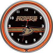 Trademark Games Anaheim Ducks 14'' Neon Clock