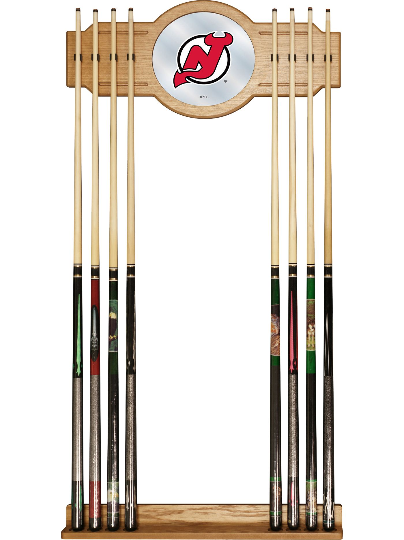 Trademark Games New Jersey Devils Cue Rack