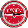 Trademark Games New Jersey Devils 14'' Neon Clock