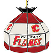 Trademark Games Calgary Flames 16'' Tiffany Lamp