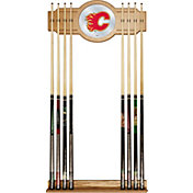 Trademark Games Calgary Flames Cue Rack