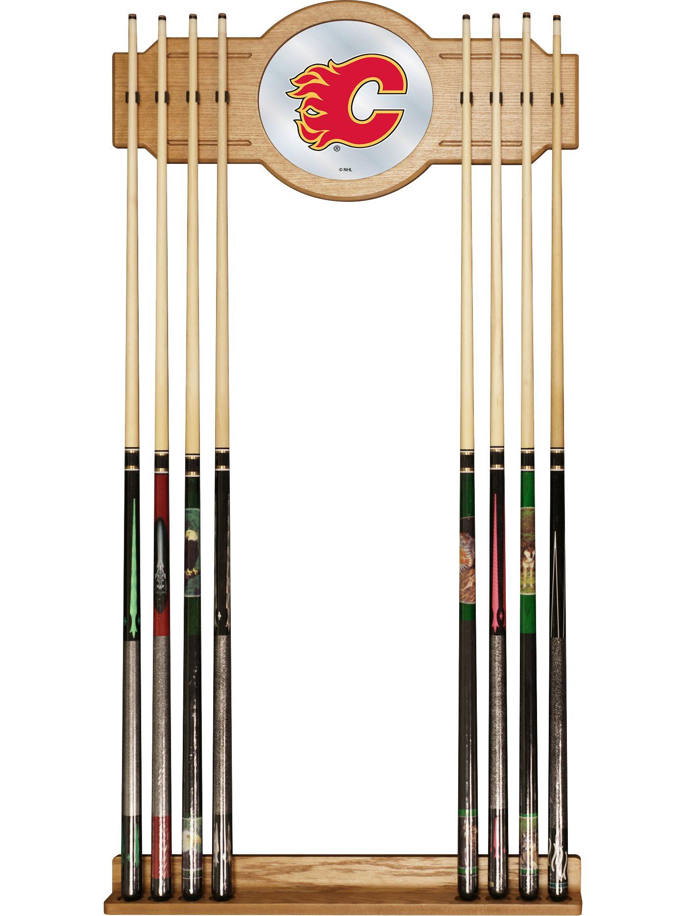 Trademark Games Calgary Flames Cue Rack