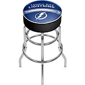 Trademark Games Tampa Bay Lightning Padded Bar Stool