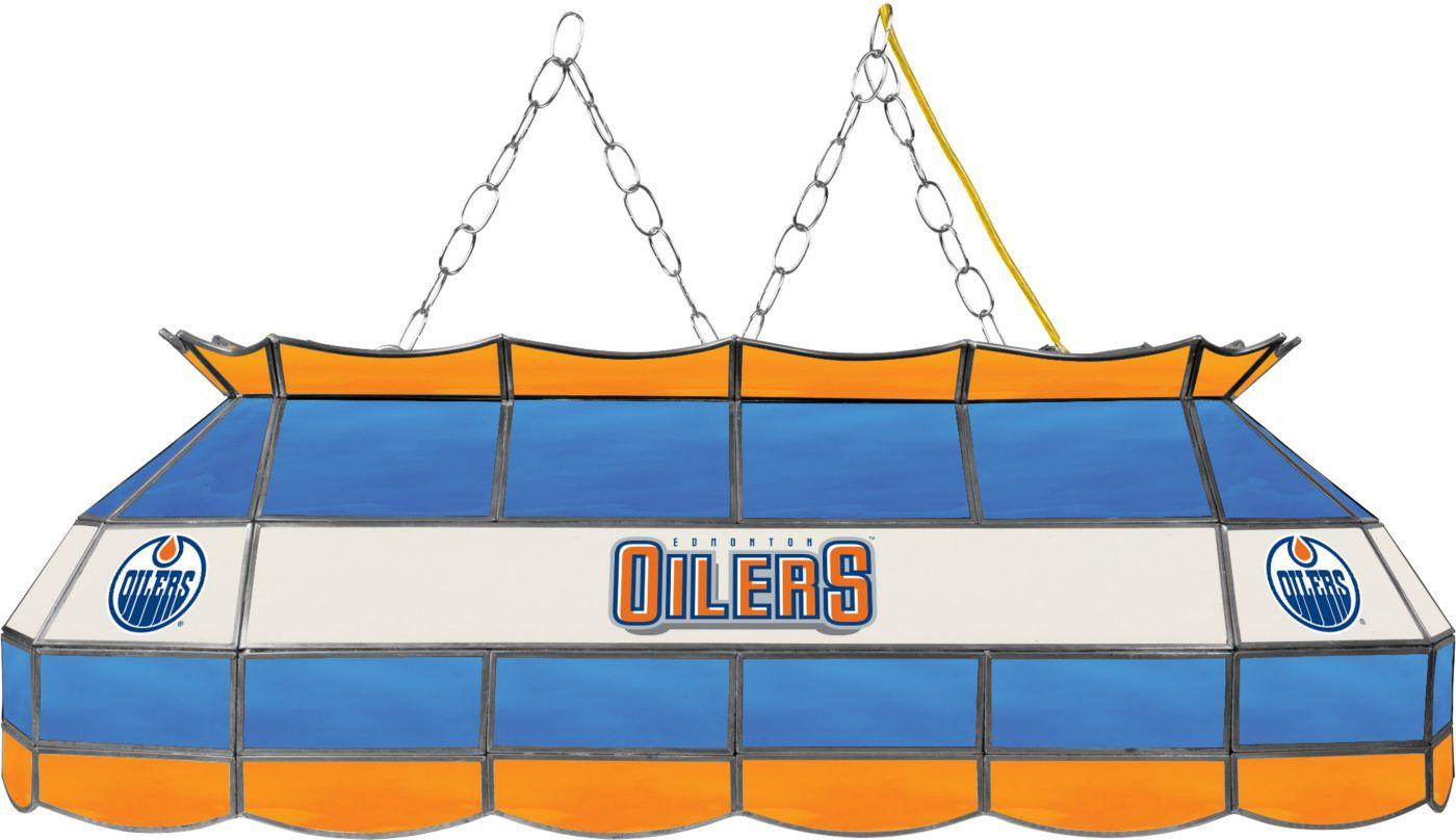 Trademark Games Edmonton Oilers 40'' Tiffany Lamp