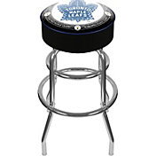 Trademark Games Toronto Maple Leafs Padded Bar Stool