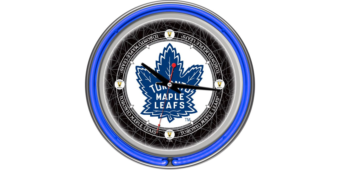 Trademark Games Toronto Maple Leafs 14'' Neon Clock
