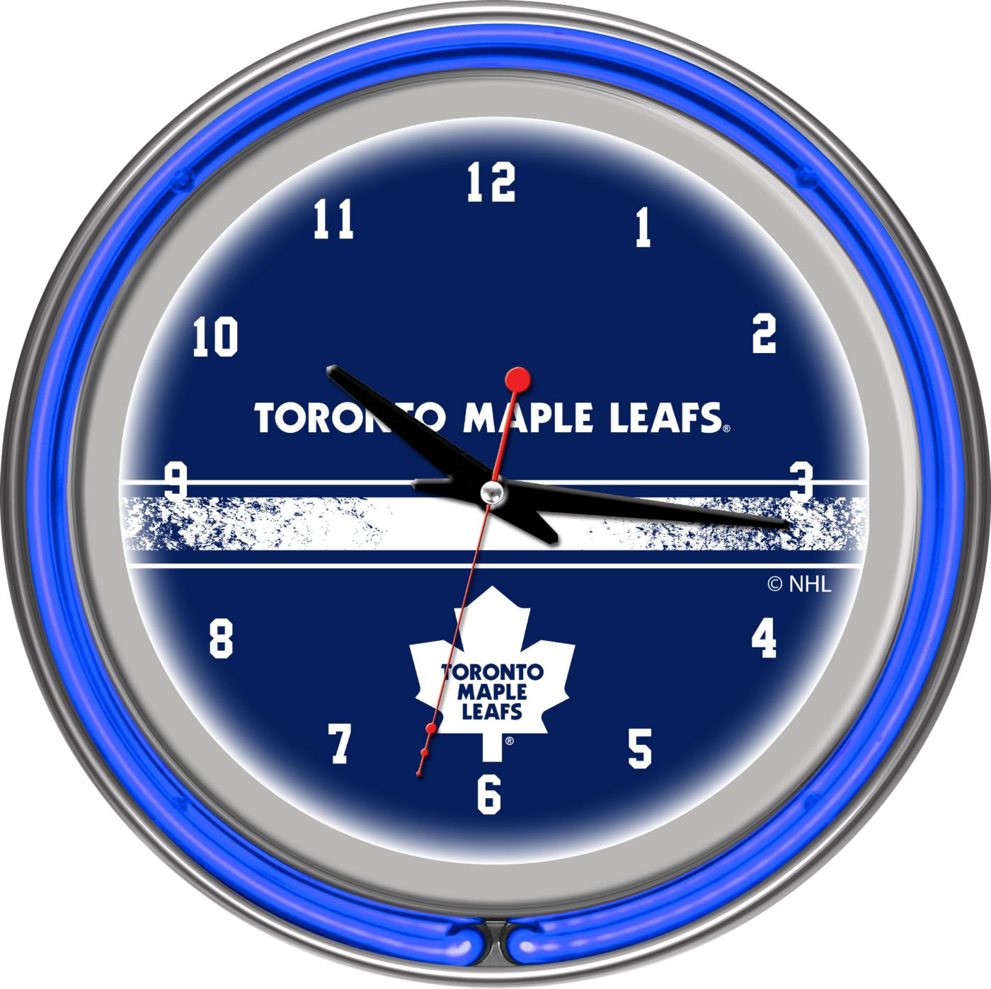 Trademark Games Toronto Maple Leafs 14'' Neon Clock