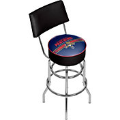 Trademark Games Florida Panthers Padded Swivel Bar Stool with Back