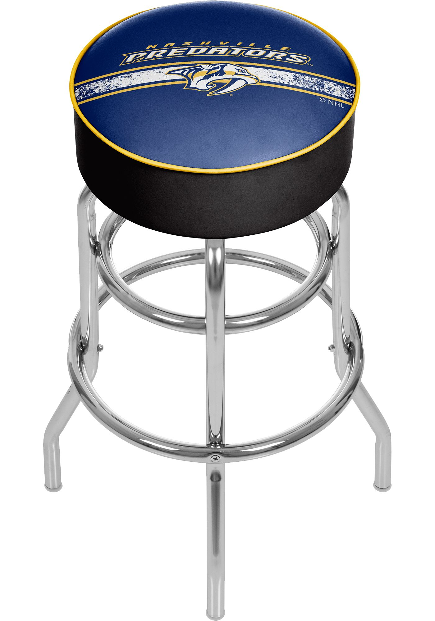 Trademark Games Nashville Predators Padded Bar Stool
