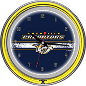 Trademark Games Nashville Predators 14'' Neon Clock