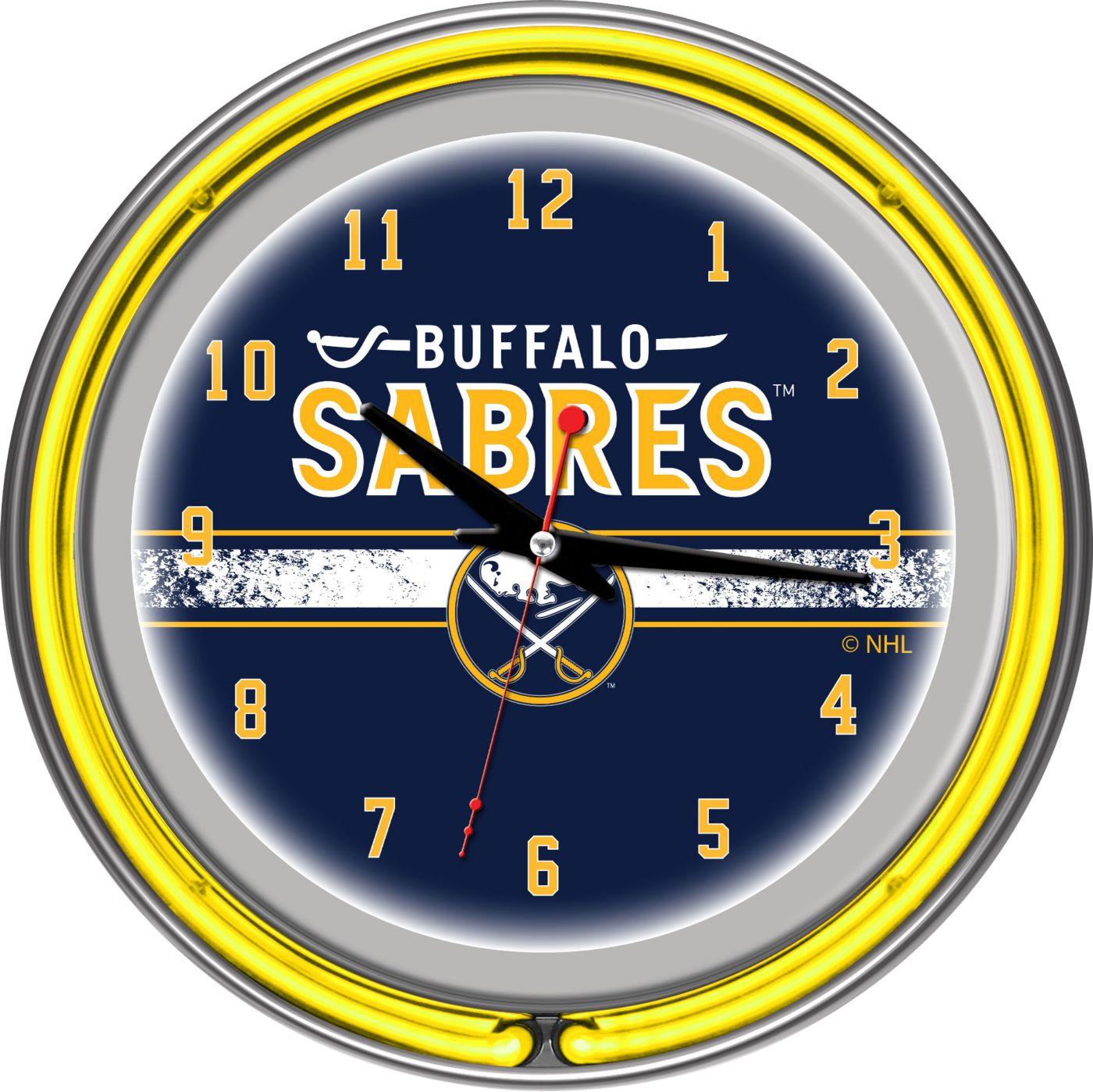 Trademark Games Buffalo Sabres 14'' Neon Clock