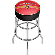 Trademark Games Ottawa Senators Padded Bar Stool