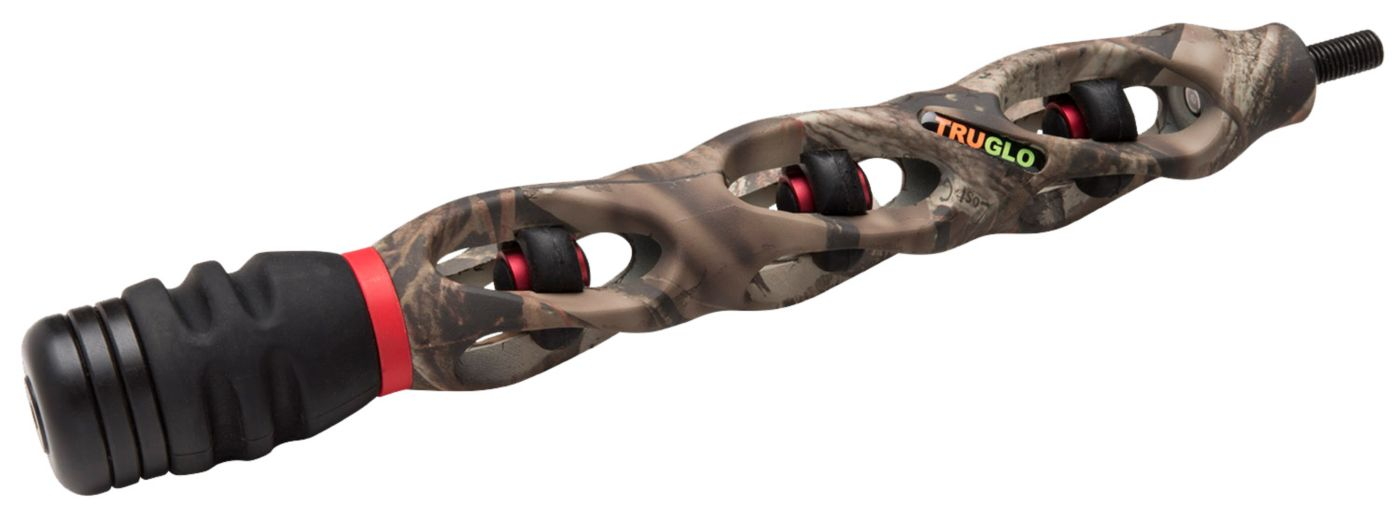 TRUGLO 9'' Carbon XS Bow Stabilizer with Sling