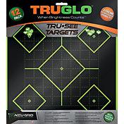 TRUGLO Tru-See Splatter 5-Diamond Target – 12 Pack