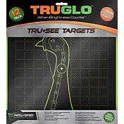 TRUGLO Tru-See Splatter Turkey Target – 12 Pack
