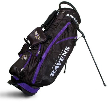 Team Golf Fairway Baltimore Ravens Stand Bag