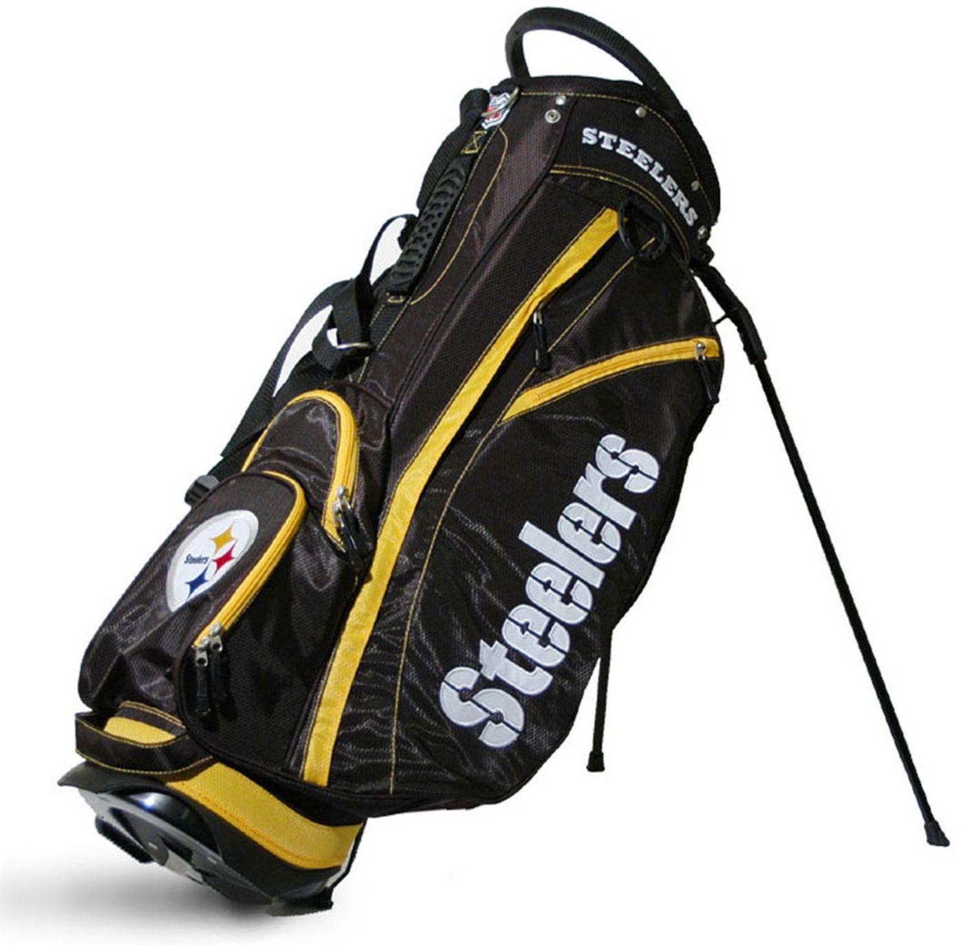 Team Golf Fairway Pittsburgh Steelers Stand Bag