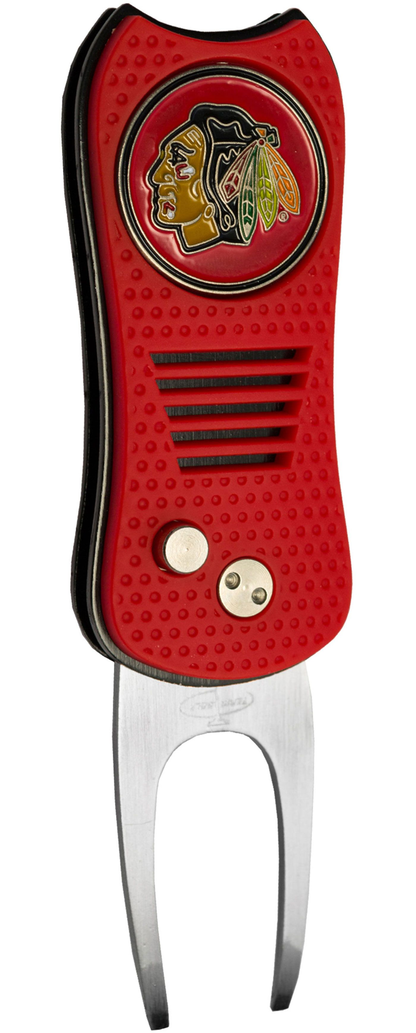 Team Golf Switchfix Chicago Blackhawks Divot Tool