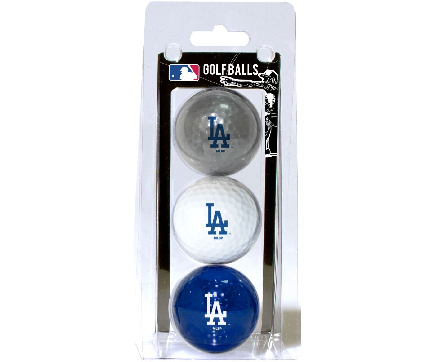 Team Golf Los Angeles Dodgers Golf Balls - 3 Pack